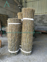 Плот з бамбукавай шчоткі