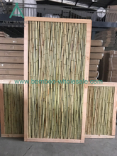 Bamboo Wood Fence