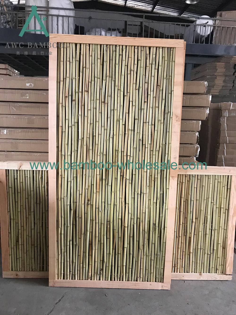 Recinto di legnu di bambù